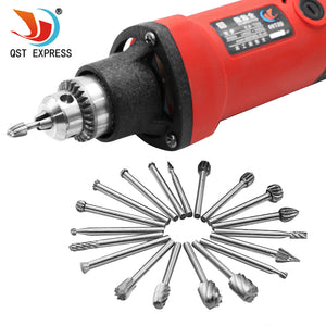 20pcs Set HSS Wood Milling Rotary Tool