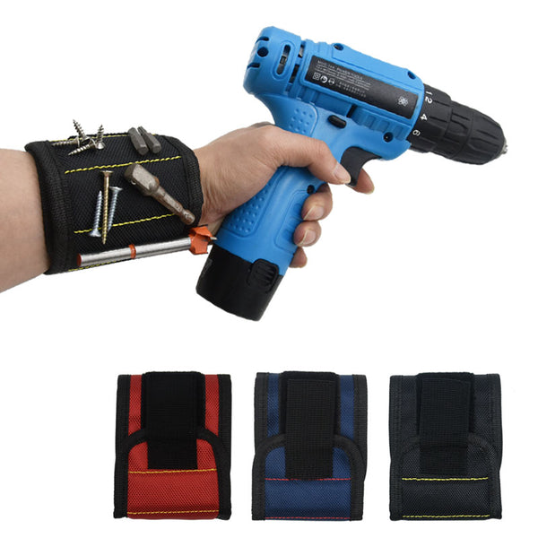 Wrist Strong Magnetic Wristband Holding Hand Tool Bag Bracelet