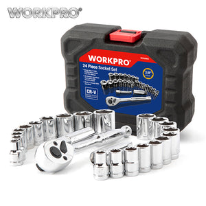 Workpro 24pc. socket set