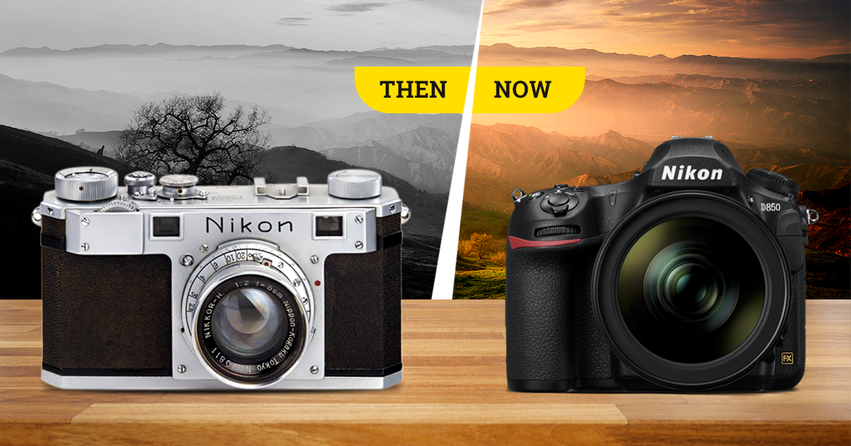 A Historical summary of all Nikon Digital SLR (DSLR) Cameras