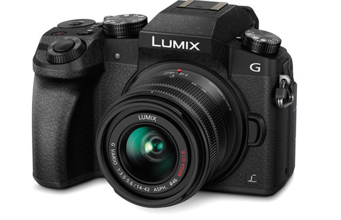 LUMIX G7 4K Mirrorless Interchangeable Lens Camera Kit