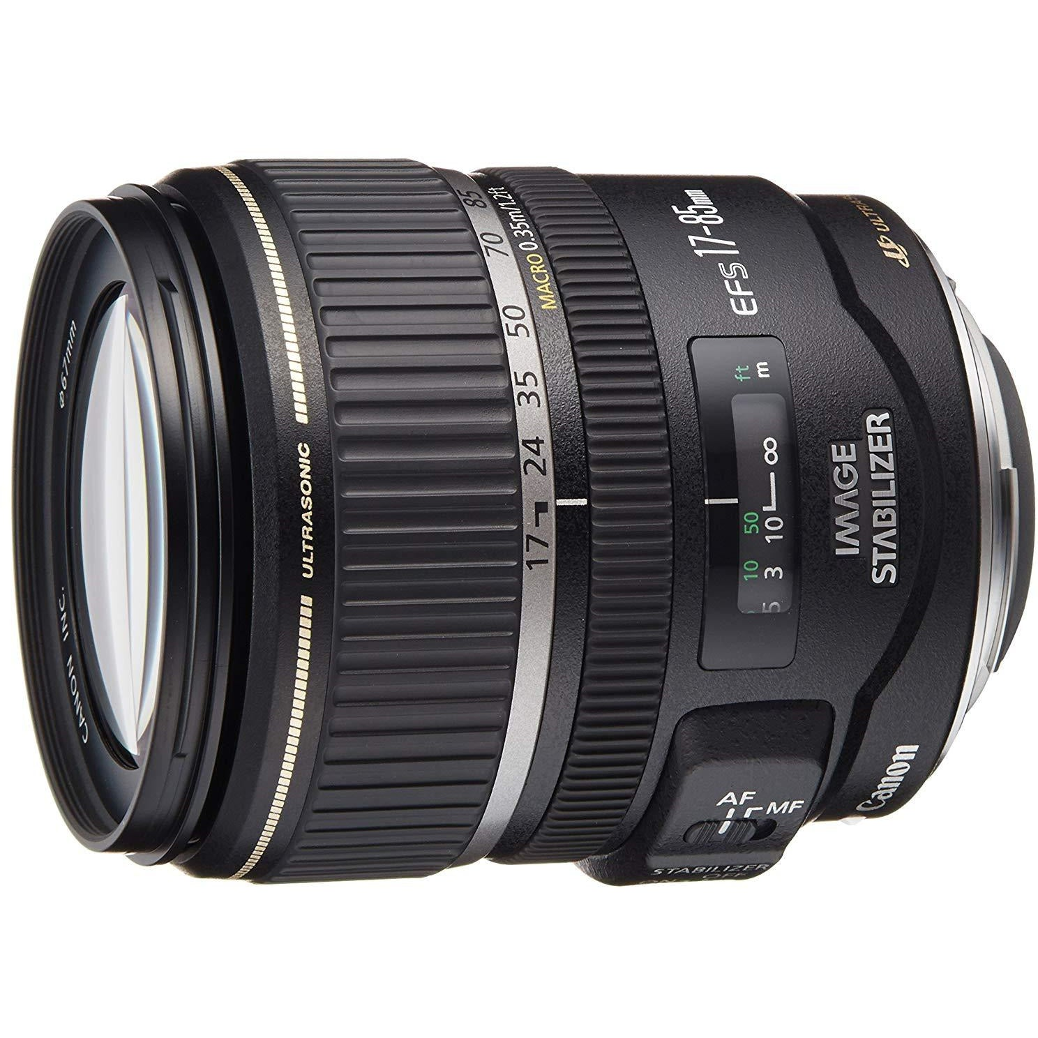 Canon EF-S 17-85mm F/4-5.6 Zoom Lens for Canon DSLR Camera