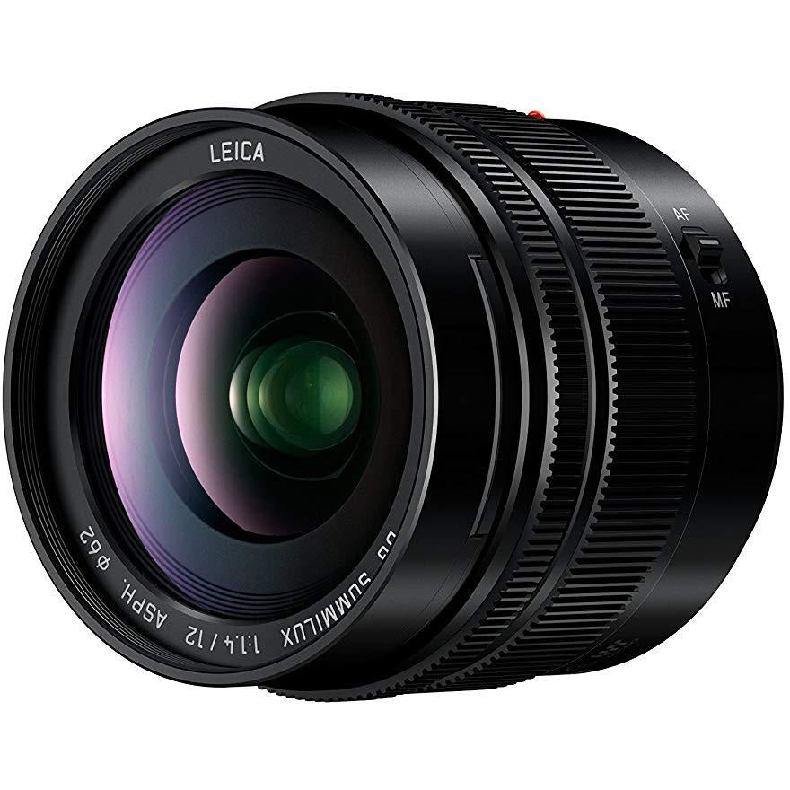 Panasonic H-X012E 12 mm Micro Four Thirds Single Focal Lumix G Lens