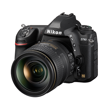 Nikon D780 with 24-120mm VR Lens