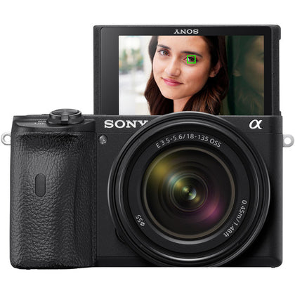 Sony Alpha a6600 Mirrorless Digital Camera with 18-135mm Lens
