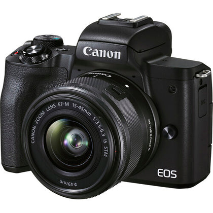 Canon DSLR EOS M50 Mark II (15-45) IS STM