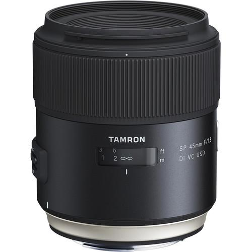 Tamron SP 45mm f/1.8 Di VC USD Lens for Full Frame