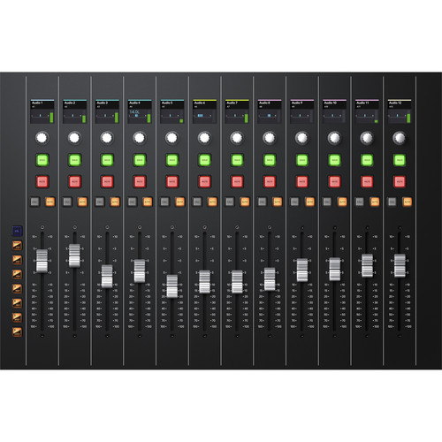 BlackMagic Fairlight Console Channel Fader