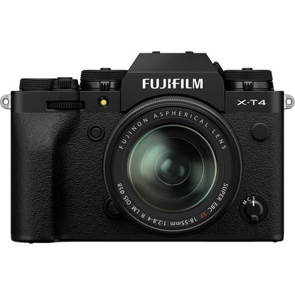 FUJIFILM X-T4 Mirrorless Digital Camera with 18-55mm Lens