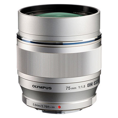 Olympus M.ZUIKO DIGITAL ED 75mm F1.8 Lens