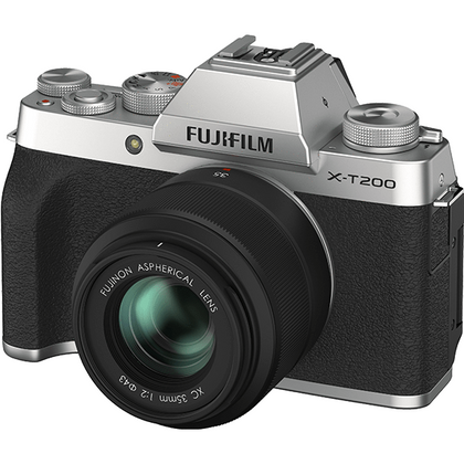 FUJIFILM X-T200 MIRRORLESS CAMERA