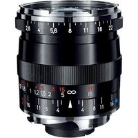 Zeiss 21mm f/2.8 Biogon T* ZM Manual Focus Lens for Zeiss NIkon and Leica M Mount Rangefinder Cameras (Black)