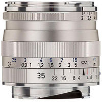 Zeiss 35mm f/2 Biogon T* ZM Lens (Silver)