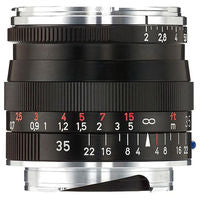 Zeiss 35mm f/2 Biogon T* ZM Lens (Black)