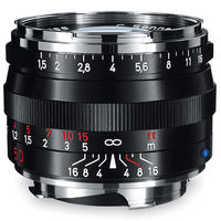 Zeiss 50mm f/1.5 C Sonnar T* ZM Lens (Black)