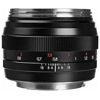 Zeiss Planar T* 50mm f/1.4 ZE Manual Focus Lens for Canon EOS