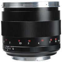 Zeiss Planar T* 85mm f/1.4 ZE Manual Focus Lens for Canon EOS