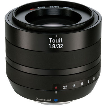 Zeiss Touit 32mm F/1.8 Lens for X-Mount
