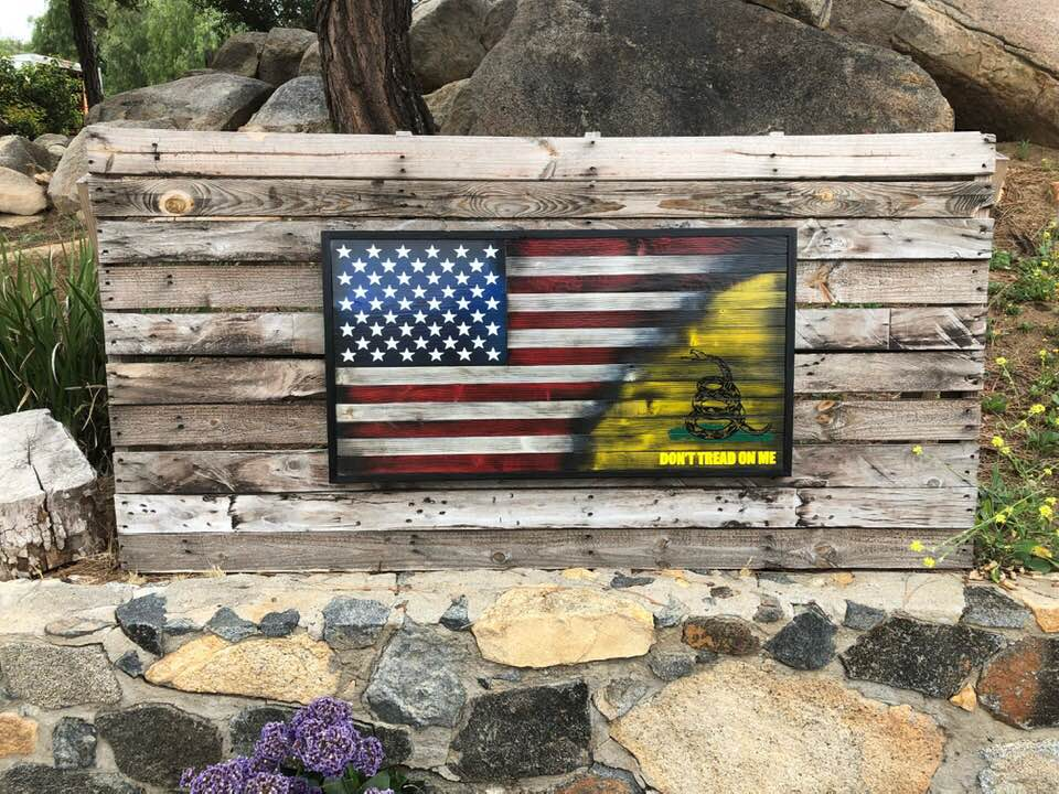 70/30 Don't Tread On Me – Your American Flag Store