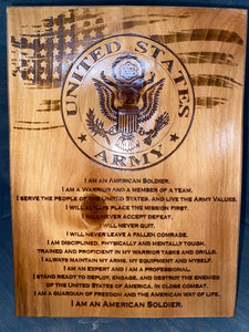 US ARMY Plaque - Your American Flag Store
