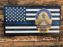 Thin Blue Line - Badge Flag