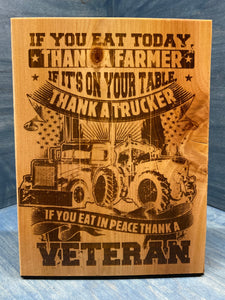Farmers, Truckers & Veterans - Your American Flag Store