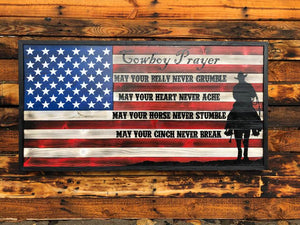 Cowboy Prayer - Your American Flag Store