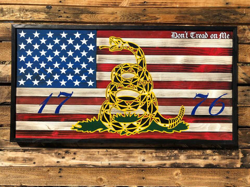 DON'T TREAD ON ME 1776 - Your American Flag Store