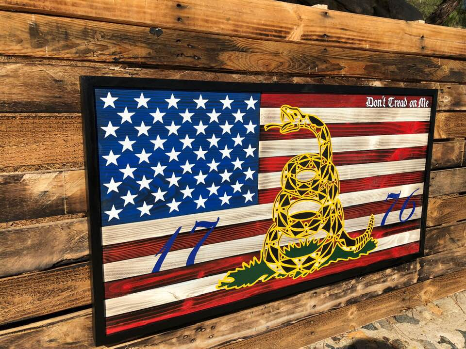 DON'T TREAD ON ME 1776 – Your American Flag Store