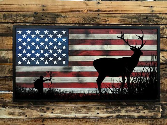 Outdoorsman - The Bow Hunter - Your American Flag Store