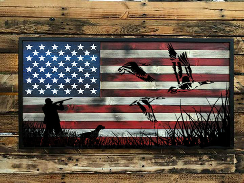 Outdoorsman - The Duck Hunter - Your American Flag Store