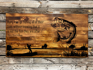 Rustic Art - The Fishermen - Your American Flag Store