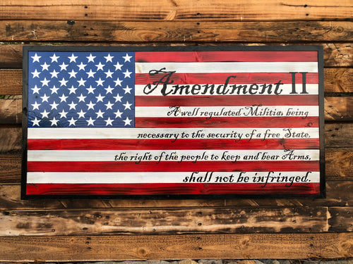 2nd Amendment - Your American Flag Store