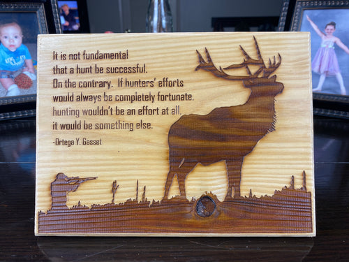 Elk Hunter - Your American Flag Store