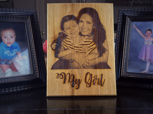 Your Photo Engraved - Your American Flag Store