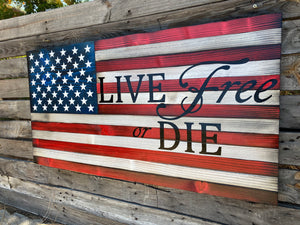 Live Free or Die - Your American Flag Store