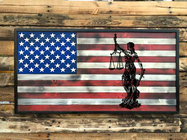 Lady Justice - Your American Flag Store