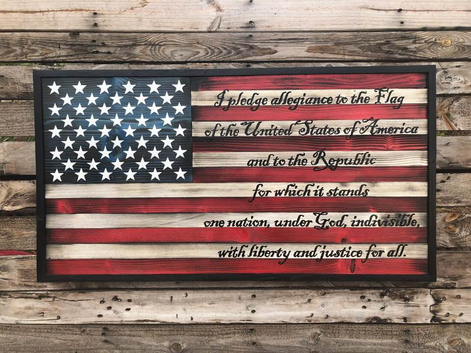 Pledge of Allegiance - Your American Flag Store
