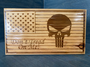 Punisher DTOM Desk Flag - Your American Flag Store