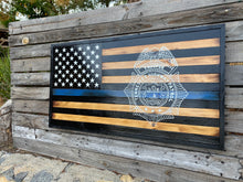 Thin Blue Line Badge Silhouette - Your American Flag Store