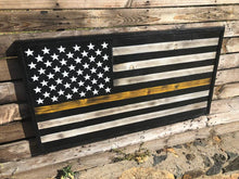 Thin Gold Line Dispatchers Flag - Your American Flag Store