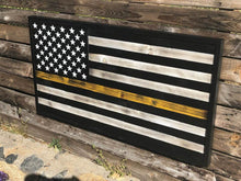 Thin Gold Line Dispatchers Flag