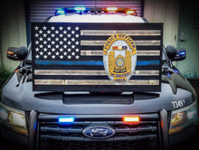 Thin Blue Line Badge - Your American Flag Store