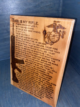USMC Riflemen Plaque - Your American Flag Store