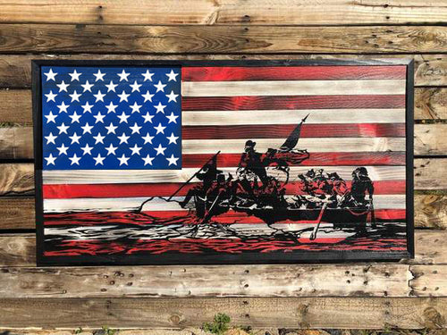 Handcrafted Wood Flags Your American Flag Store
