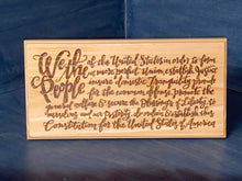 We the People Plaque by Ginger - Your American Flag Store
