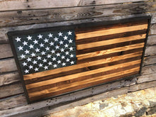 The Rustic 50 - Walnut - Your American Flag Store