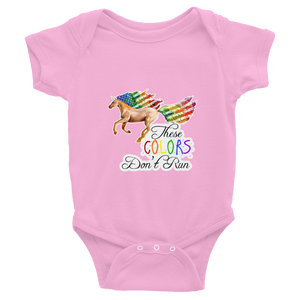 These Colors Don't Run Infant Bodysuit - Your American Flag Store