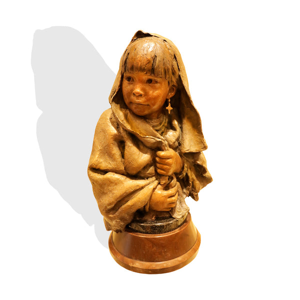 """Little Pueblo Girl"" By John Coleman"