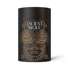 ancient and brave cacao + collagen